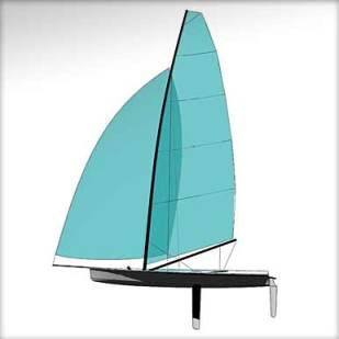 Stealth 14 Sail Plan