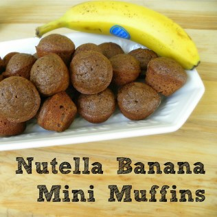 nutella recipes, nutella muffin recipe