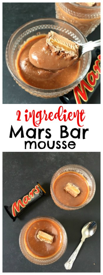 how to make 2 ingredient chocolate mousse