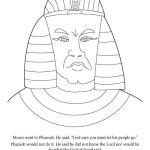 Coloring Page-Mean Pharaoh