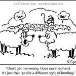 Cartoon: Different Kind of Shepherd