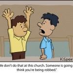 Cartoon: Raise Your Hands