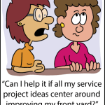 Why brainstorming for service projects is so hard