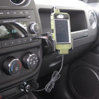 ProClip USA iPhone mount for Jeep Patriot