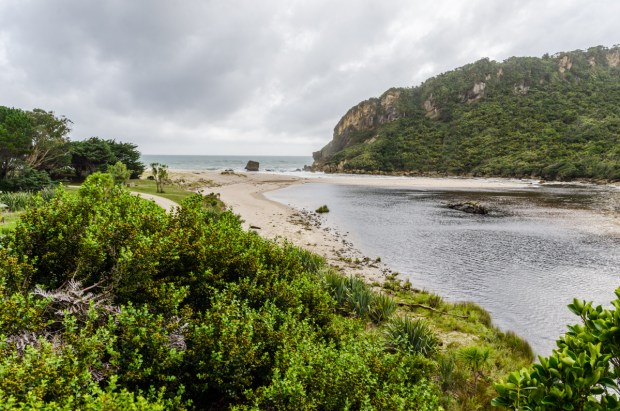Kohaihai River mouth, Heaphy Track