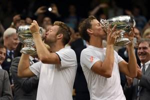 Vasek Pospisil and Jack Sock (Wimbledon Facebook page)