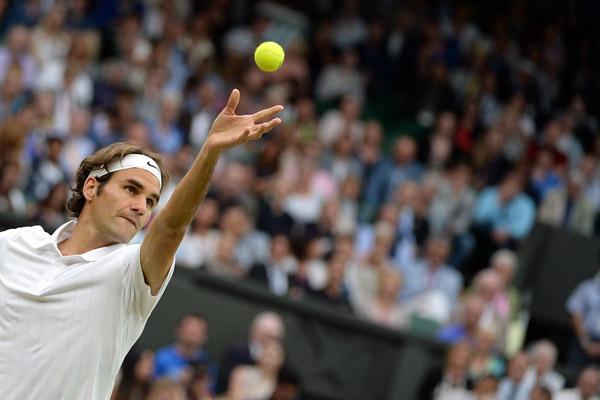 Roger Federer (Tom Lovelock/AELTC)