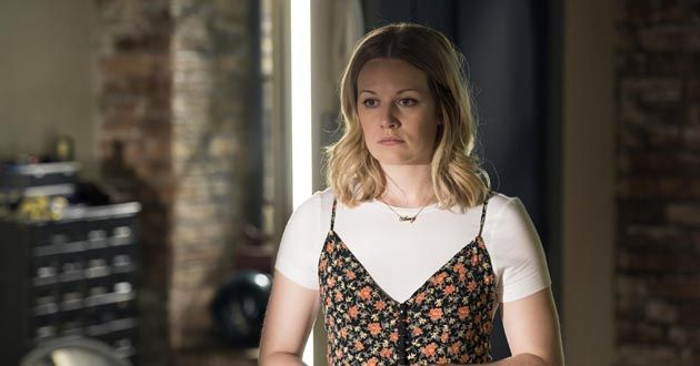 Cara Theobold plays Amy in Crazyhead