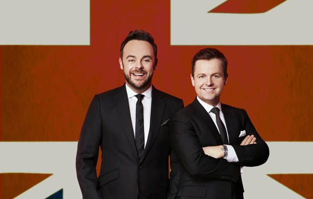 Ant and Dec Britain's Got Talent