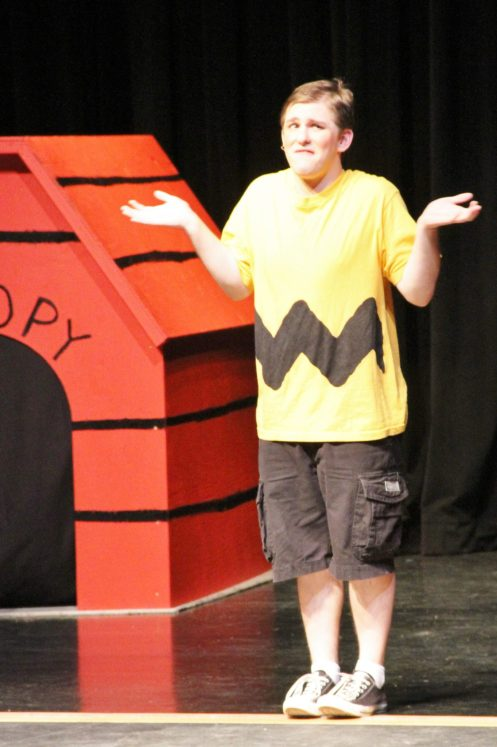 """Zach Perry, the perfect """"Charlie Brown."""""""