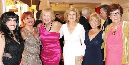 The ladies of the Key West Women's Club represent at the event: Mona Santiago, Sho Lichtenstein, Lou Ferris, Joy Rodriguez, Clare Angermann and Dee Johnston.