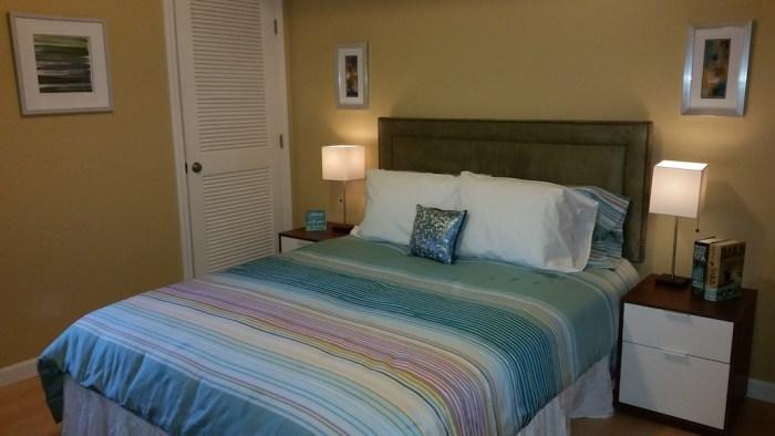 West Hartford Model Condo Bedroom