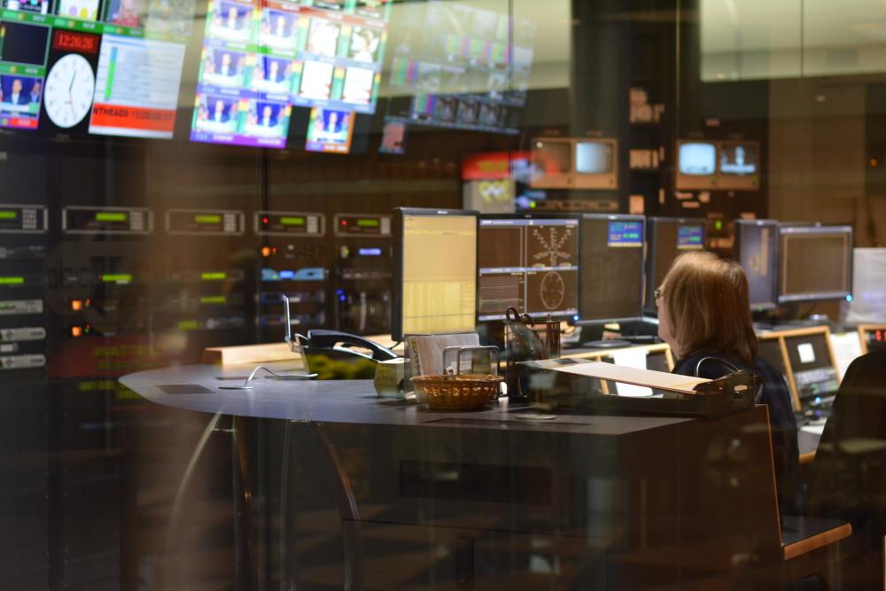 WJLA Control Room