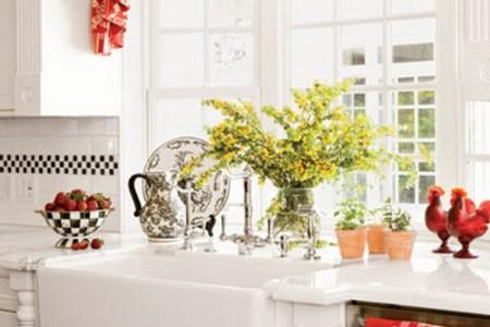 kitchen window curtains ideas 31