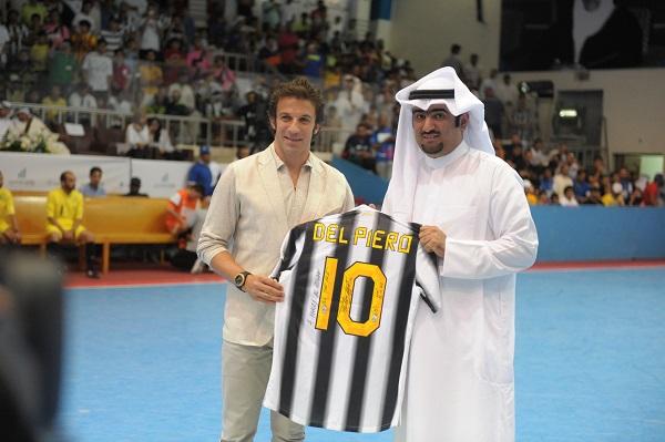 Alessandro Del Piero with Al Roudan