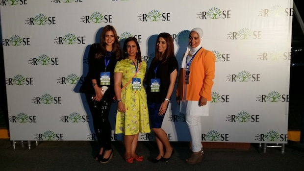 Event organizers at RISE