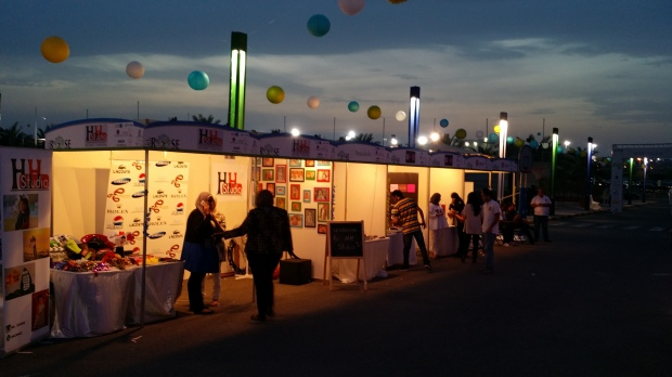 Rise Market Booths