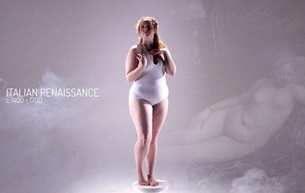 11 hình thể chuẩn mực của phụ nữ thế giới trong 3000 năm qua