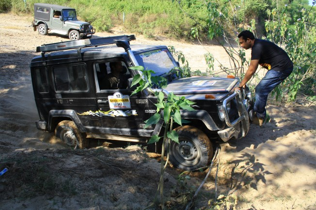 Testing the grit of rough terrains