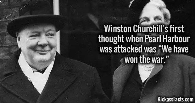 1095 Winston Churchill Pearl Harbour