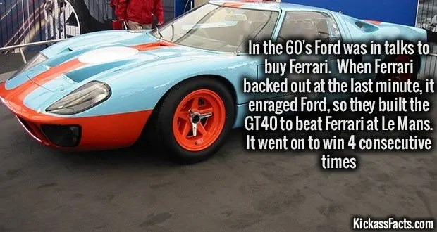 1099 Ford GT40