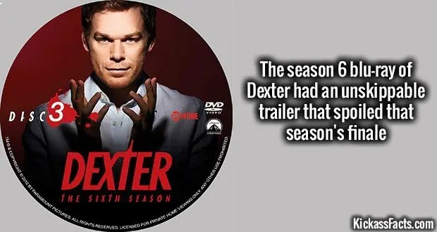 Dexter - Season 6 - nordic custom label