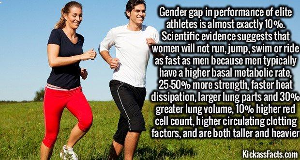 1363 Men vs Women Atheletic Performance