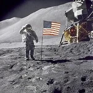 Moon Flag-Random Facts List