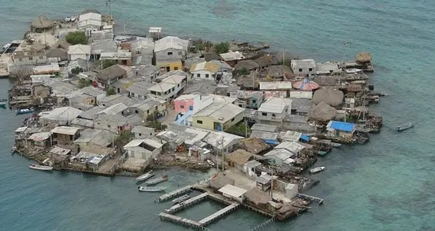 Santa Cruz del Islote, Island, Colombia-Most Densely Populated Places on Earth