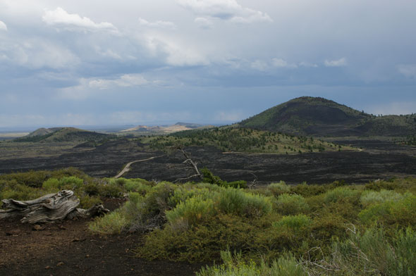It's not all lava flow and volcanic soil, Craters also has beautiful green(ish) vistas