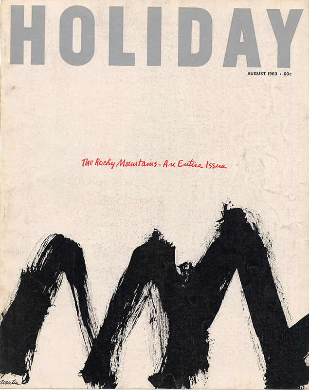 Holiday, August 1963