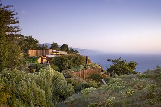 The breathtaking Post Ranch Inn, Big Sur, California.
