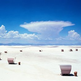 At White Sands National Monument in New Mexico you can visit the world's largest expanse of gypsum dunes.