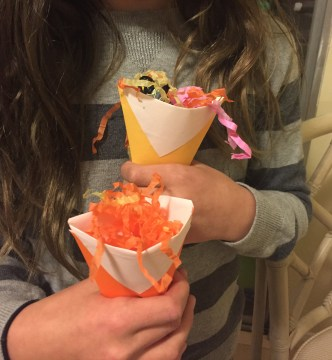 The cups were a surprise hit — easy to make and useful.