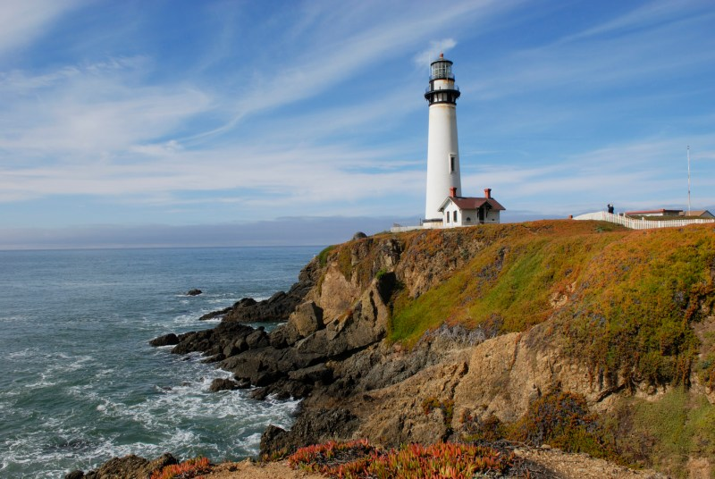 The Pigeon Point Lighthouse Hostel in northern California is a one-of-a-kind stay.