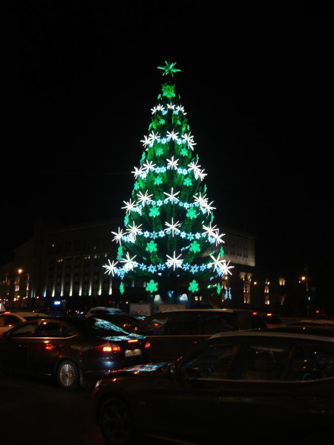 Yolka Christmas Tree Lubyanka Moscow