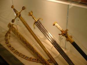 swords State Historical Museum Moscow
