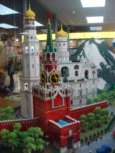 The Kremlin out of Lego