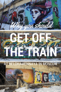 Reasons why you should get off the train at Belokamennaya station on the Central Circle Line, Moscow, Russia