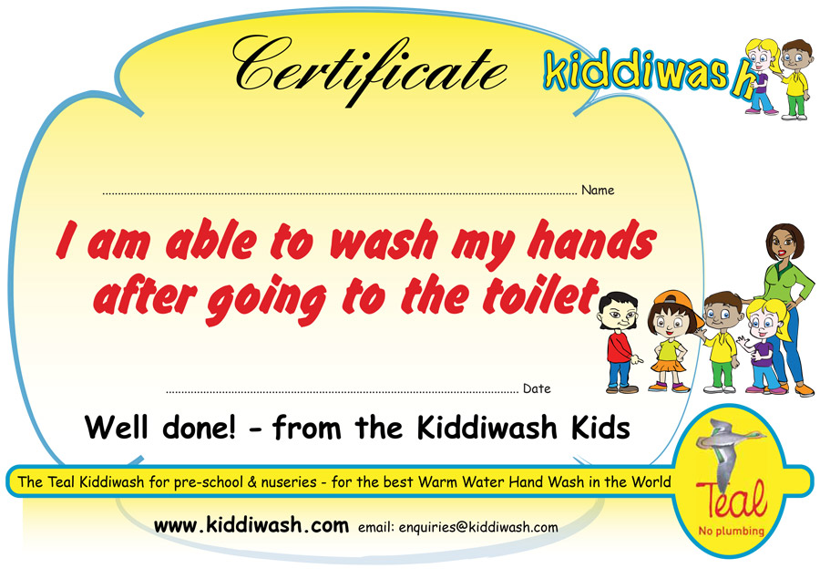 TEAL certificates help Finstall First School mark global hand washing day