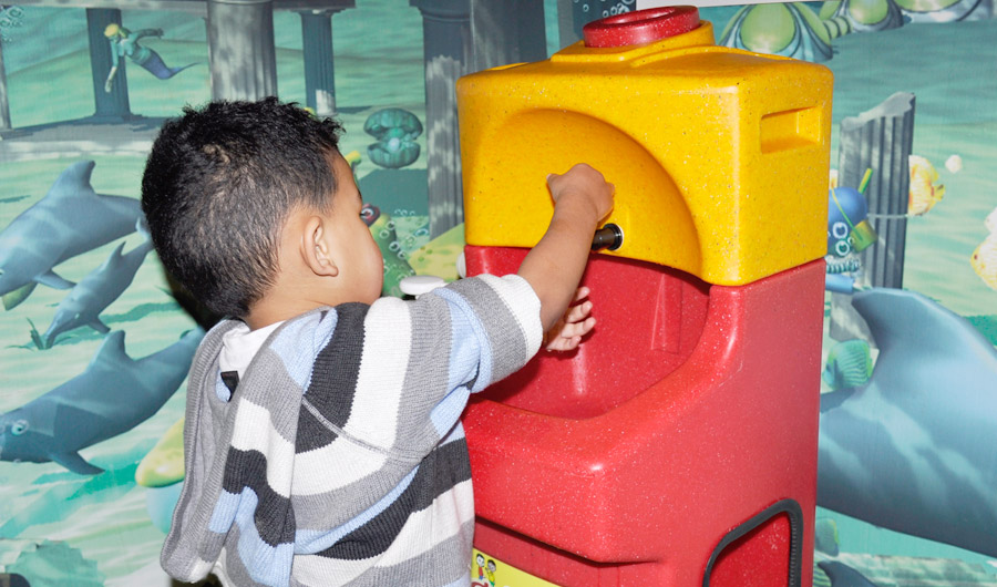More hand washing needed in indoor play areas