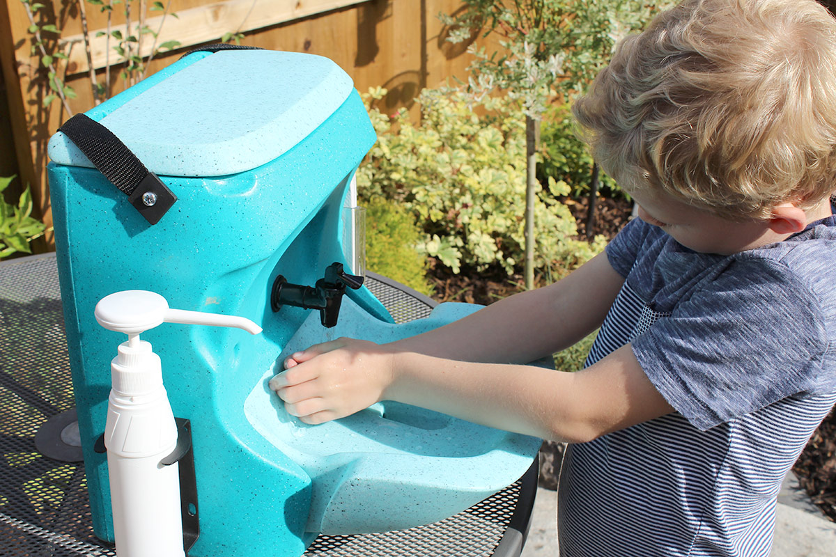 Trips to the park: council advise soap and water hand washing