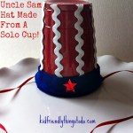 DIY – An Uncle Sam Hat Made From A Solo Cup Craft