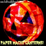 Paper Mache Halloween Lanterns or Night Lights! – Kid Friendly Things to Do .com