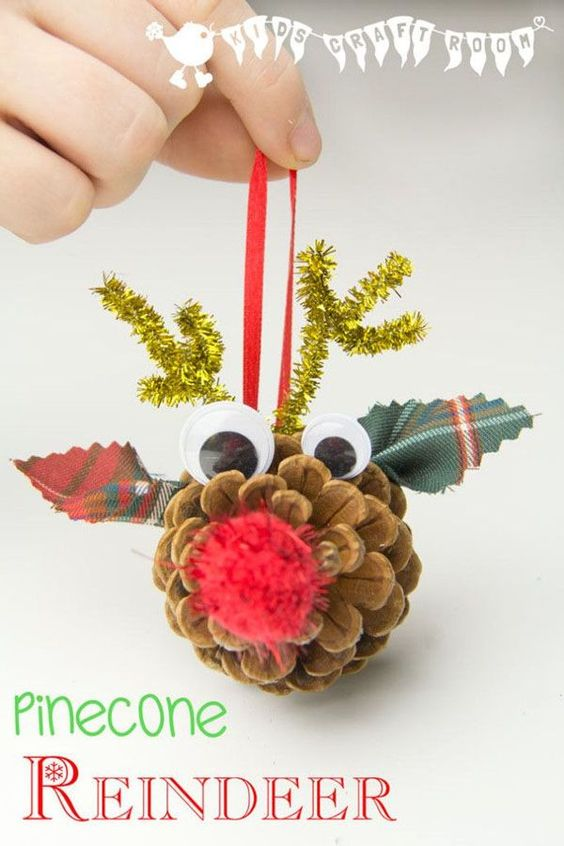 Over 30 easy christmas fun food ideas crafts kids can Christmas crafts for kids to make at home