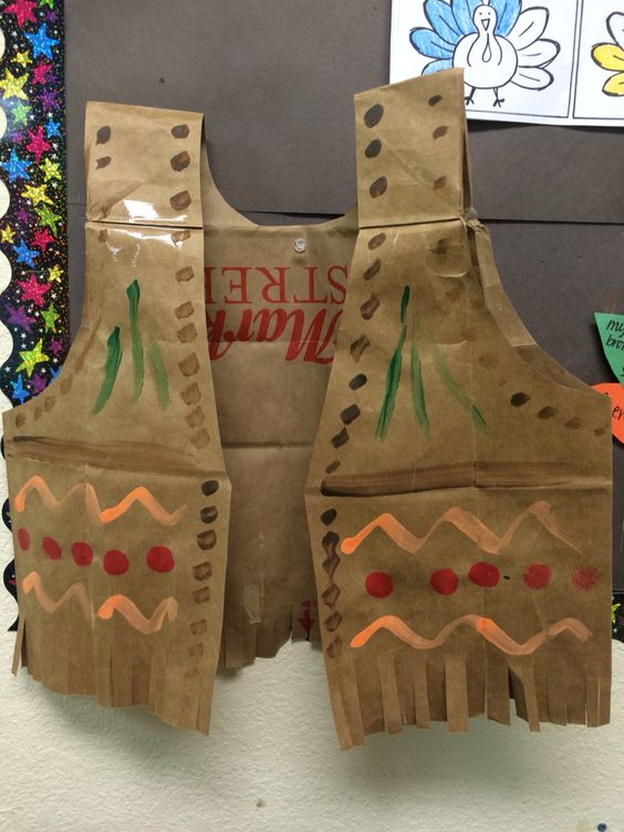 Over 30 thanksgiving crafts food crafts for a kid for Native american thanksgiving crafts