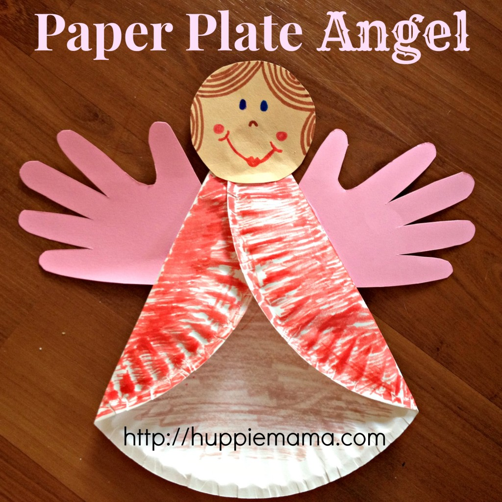Christmas Crafts Paper Angels : Over easy and fun christmas ornaments for kids to make
