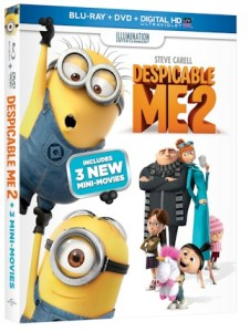 Despicable Me 2 on DVD & BluRay