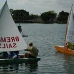 Sailing away ...