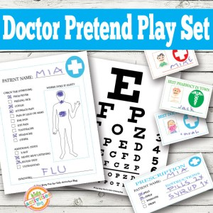 Doctor Pretend Play Free Kids Printables Kids Activities Blog